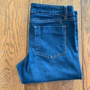 Denim leggings size 8